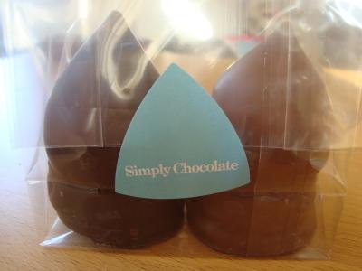 Flødebollerne fra Simply Chocolate i pose