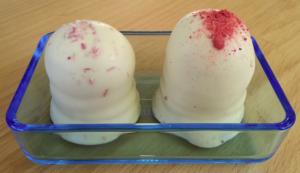 Økologiske jordbærflødeboller fra Summerbird