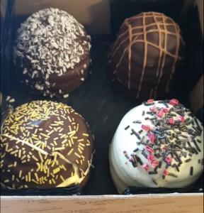 Fire flødeboller fra Dagens Kys
